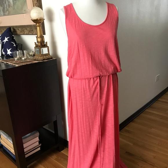 Faded Glory Dresses & Skirts - Drawstring Waist Maxi Dress